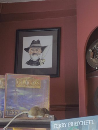 Wincanton, UK: Carictature of Terry