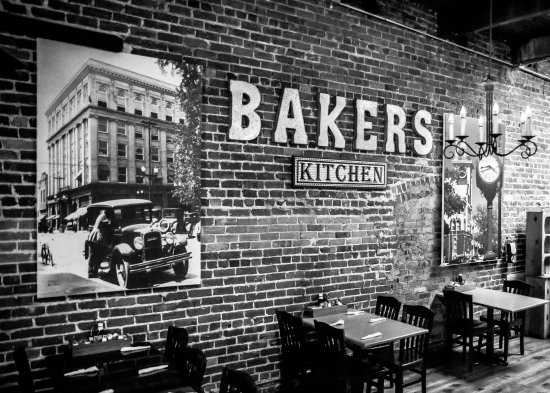 Bakers Kitchen: Upstairs Room for dining and private functions