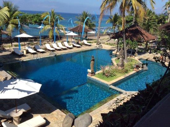 Puri Bagus Candidasa : Relaxing pool