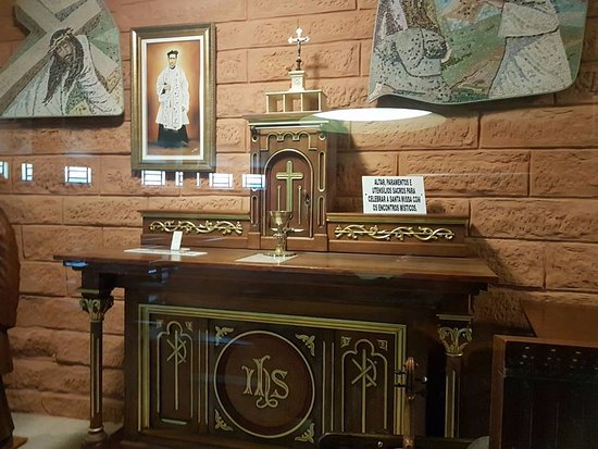 Sao Leopoldo, RS: objetos antigos da igreja
