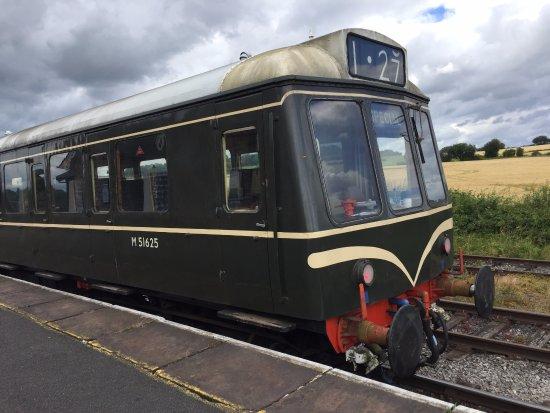 Ripley, UK: BR Derby built Class 127 DMU