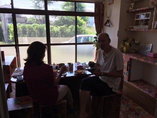 寄居町, 埼玉県, 朝食をゆっくりと。