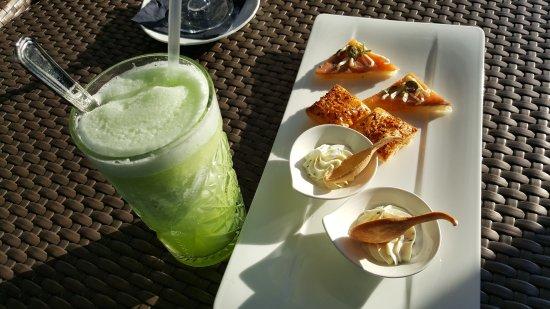 Sky Bar by Hotel La Palma: granita e aperitivo