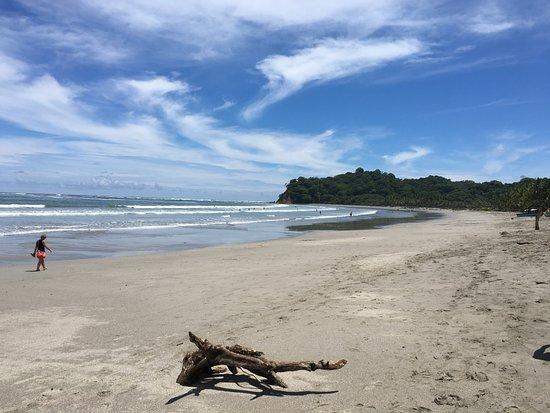 Lodge Las Ranas: Strand von Samara