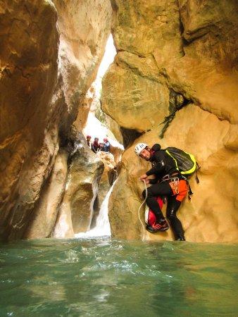 Colungo, Spain: Aguarika l'aventure canyoning