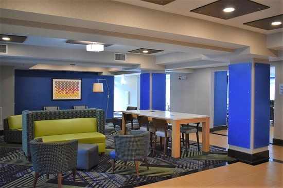 Holiday Inn Express Charlotte - Concord / I-85: Our newly rennovated lobby.