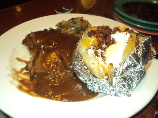 Portobello Grille: my brother-in-law's plate and i don't know what he ordered. i was too busy eating. haha!