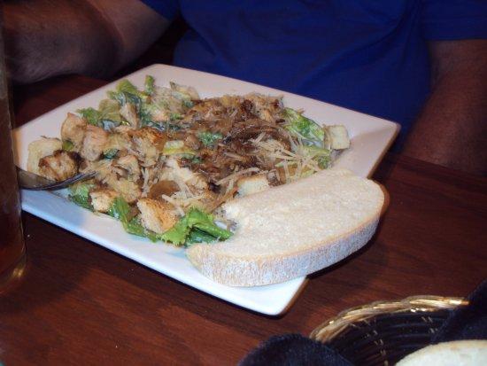 Portobello Grille: my husband's plate
