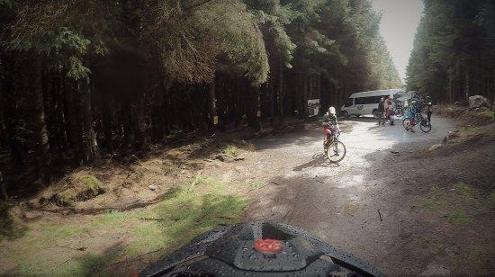 The Gap Glencullen Adventure Park: drop off point