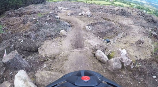 The Gap Glencullen Adventure Park: red jump trail