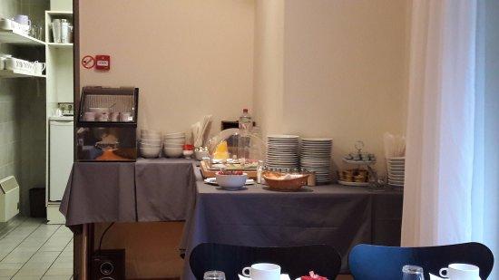 Hotel Prinse : tavolo colazione 2