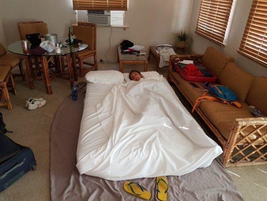 Panamint Springs Resort: dormito cosi
