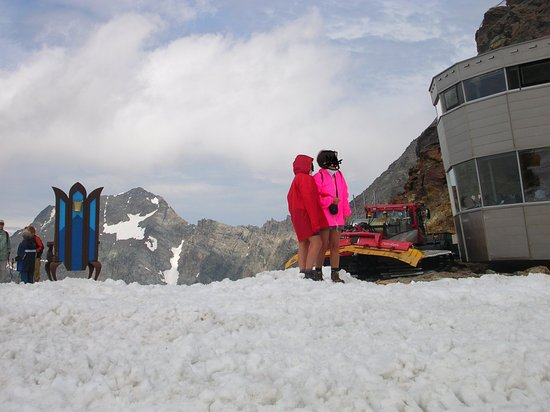 Neustift im Stubaital, Austria: nel 2010 poca neve ma c'era