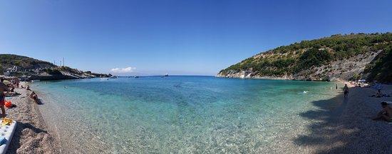 Makris Gialos Beach: panoramica