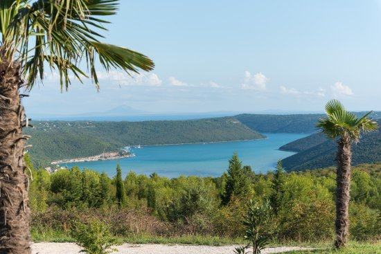 Barban, Kroatien: sea view