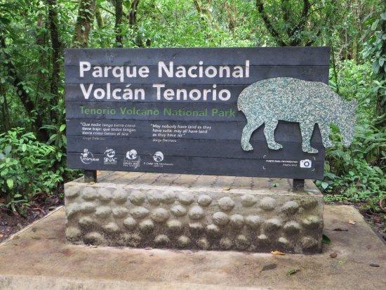 Tenorio Volcano National Park, Costa Rica: Ingresando al parque