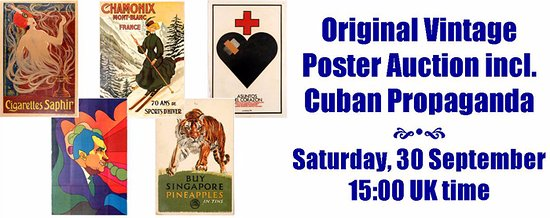 AntikBar Original Vintage Poster Auction and Auction Preview