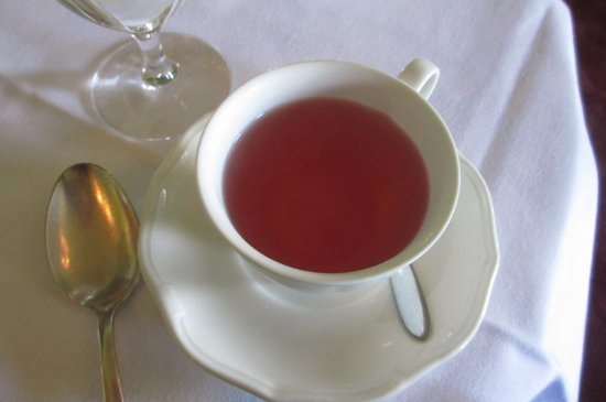 Bushypark, ไอร์แลนด์: organic wild berry tea at Glenlo Abbey