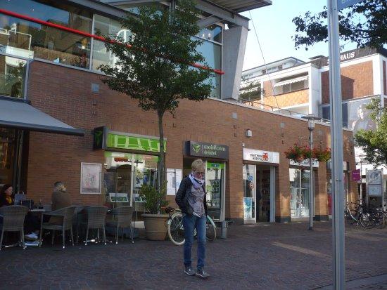 Bocholt, เยอรมนี: Vor dem Cafe.
