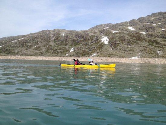 Jostedal, Norge: Styggevatnet og Austdalsvatnet