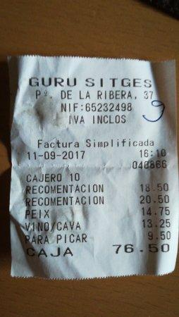 Guru Sitges Lounge: TA_IMG_20170911_184315_large.jpg