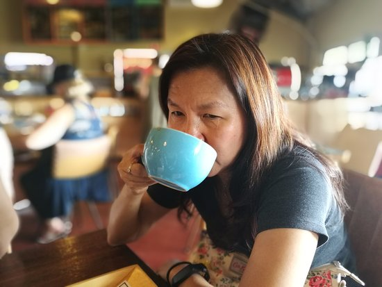 Henley Brook, ออสเตรเลีย: Mom loves her cuppa