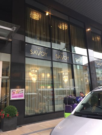 The Savoy Hotel: outside