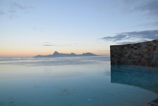 Manava Suite Resort Tahiti : leve du jour