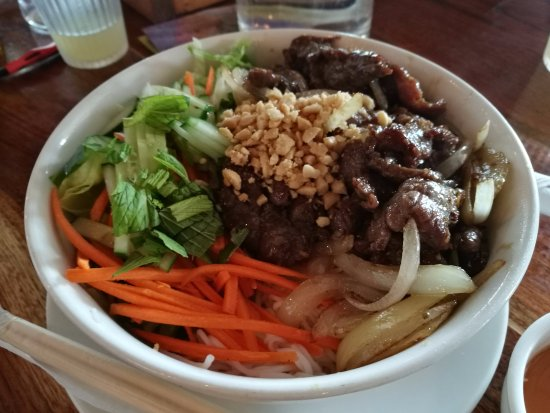 Guildford, ออสเตรเลีย: Beef noodles