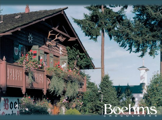‪‪Issaquah‬, واشنطن: Boehm's Chalet & High Alpine chapel ‬