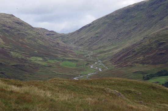 Eskdale, UK: Heading on to Wrynose