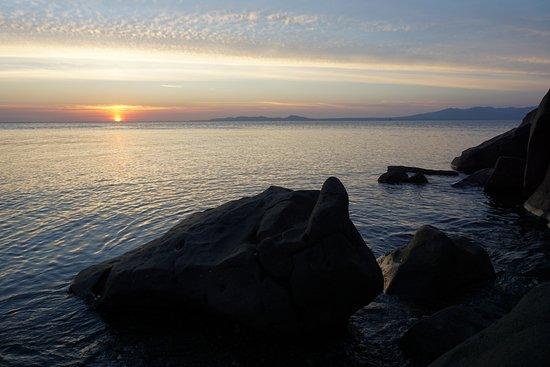 Larantuka, Indonesien: Sunset