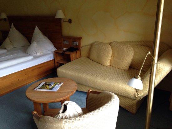 Unterreichenbach, Germany: Sitzecke im Comfort Doppelzimmer