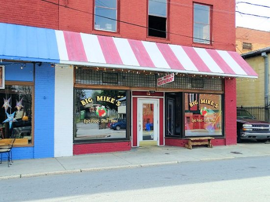 Big Mike's: outside view