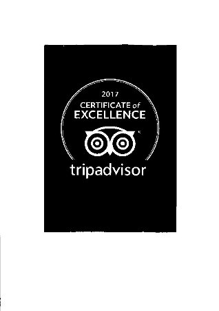 Tillsonburg, Kanada: Copper Mug receives Certificate of Excellence 2017.