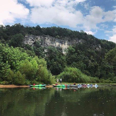 Sullivan, MO: Meramec river.