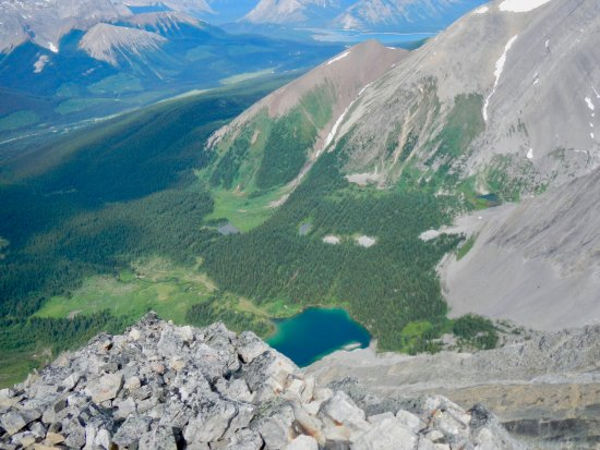 Peter Lougheed Provincial Park, Canada: View from Mount Chester - seriously challenging scramble