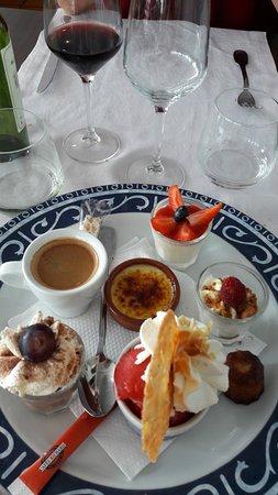 Le Verdon Sur Mer, France: café gourmand