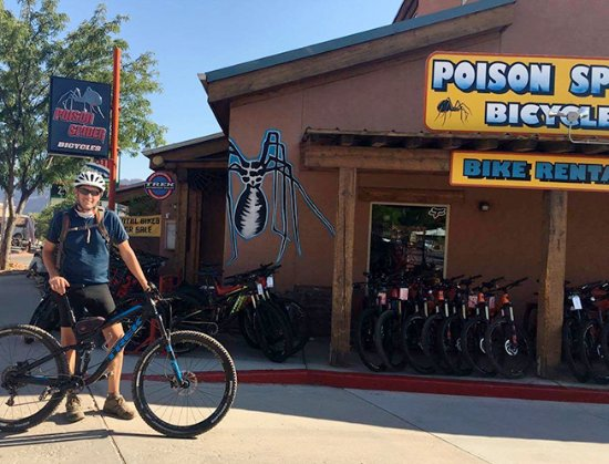Exterior Of Poison Spider Bicycles Moab Utah