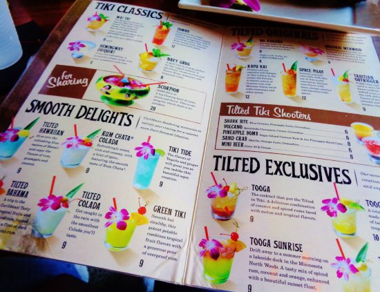 Stillwater, MN: Specialty Drink Menu