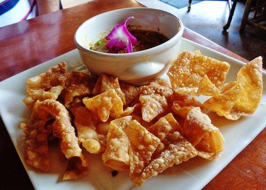 Stillwater, MN: Wonton Chips w/ Dipping Sauce