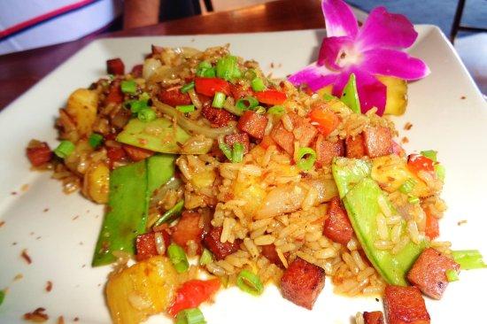 Stillwater, Μινεσότα: Pineapple Fried Rice w/ Spam