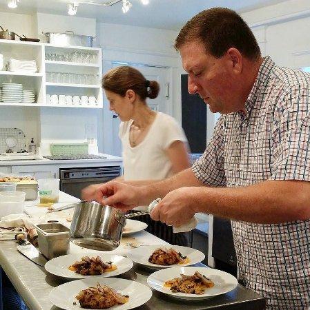 The Marble West Inn: Julia & Paul VanDerWielen, Chefs - The Marble West Inn, Dorset, Vermont