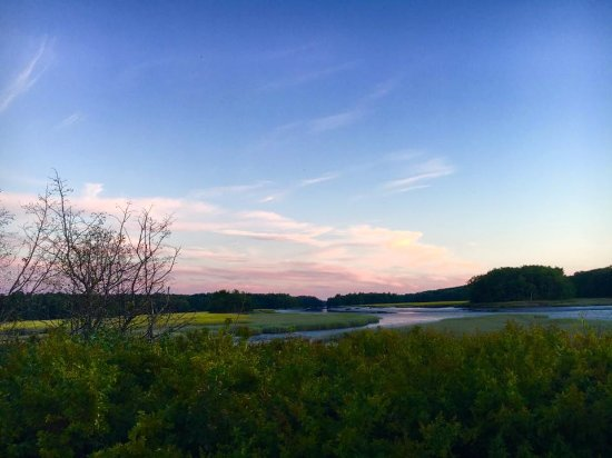 Wiscasset, ME: sunset