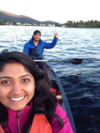 Evje, Norway: Canoeing