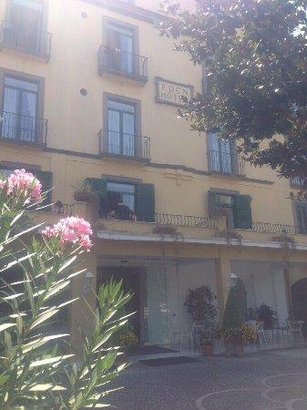 Front of hotel Eden