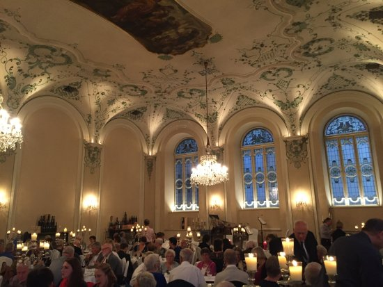Mozart Dinner Concert: The room is amazing