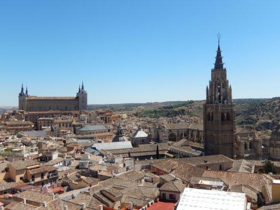 Iglesia de San Ildefonso Jesuitas: Vista de Toledo do alto das torres da Igreja dos Jesuítas