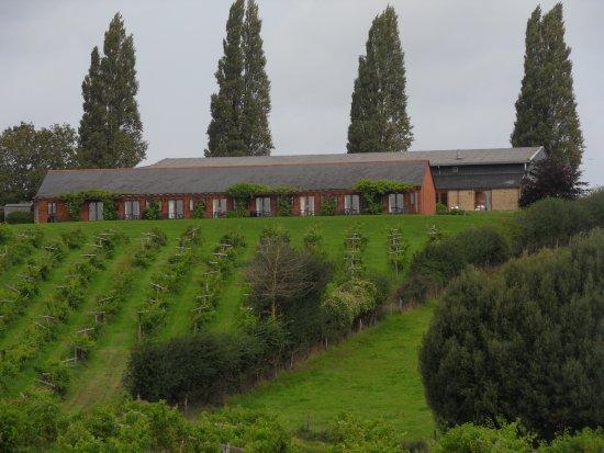 Newent, UK: Main accommodation block.