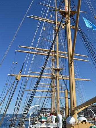 Maritimes Denkmal Passat: Deck der Passat